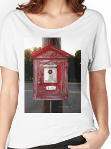Fire Alarm pull box 3233 Women's Relaxed Fit T-Shirt