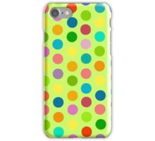 Polka Dot Party No. 3 iPhone Case/Skin
