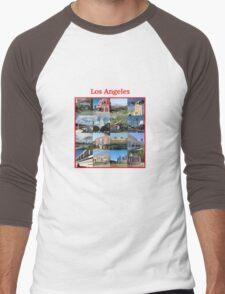 Los Angeles-12 Men's Baseball ¾ T-Shirt