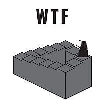 WTF Photographic Print
