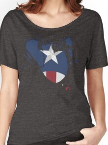 Ripped Star Spangled  Women's Relaxed Fit T-Shirt