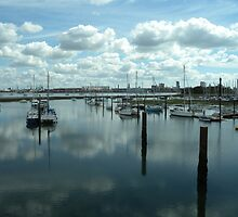 Marina - Gosport - UK by Kay Cunningham