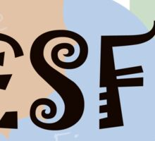 MBTI Type: ESFP Sticker