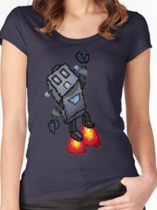 Robo-Buddy Women's Fitted Scoop T-Shirt