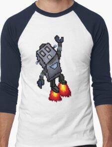 Robo-Buddy Men's Baseball ¾ T-Shirt