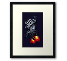 Robo-Buddy Framed Print