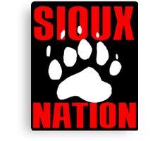 SIOUX NATION Canvas Print
