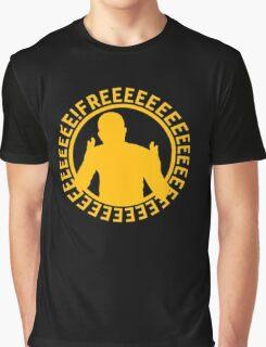 Apex FREEEEEEEEEEEE | Yellow on Black | High Quality! Graphic T-Shirt