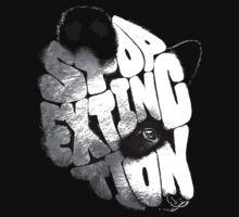 Stop Extinction Bears Kids Tee