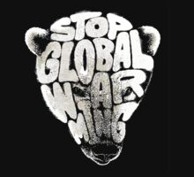 Stop Global Warming Kids Tee