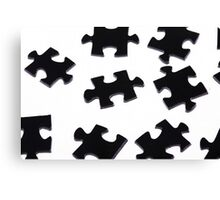 Puzzle Pieces Canvas Print