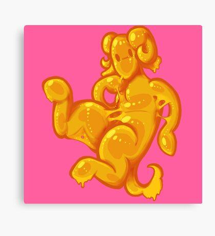 Slime Satyr Canvas Print