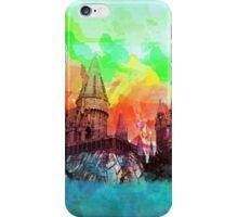 WatercolorHogwarts iPhone Case/Skin