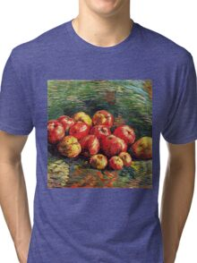 Van Gogh  - Apples, 1887 (bright version) Tri-blend T-Shirt