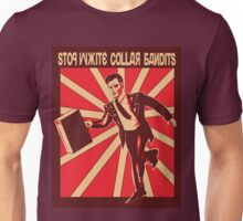 White collar bandits Unisex T-Shirt