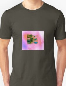 Mask in pink Unisex T-Shirt