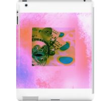 Mask in pink iPad Case/Skin