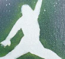 Air Brush Galaxy Jordan Sticker