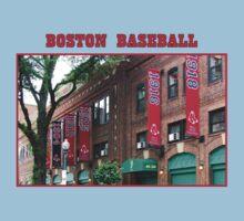 Boston Baseball Baby Tee