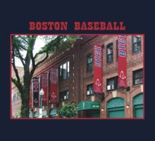 Boston Baseball Kids Tee