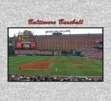 Baltimore Baseball One Piece - Short Sleeve