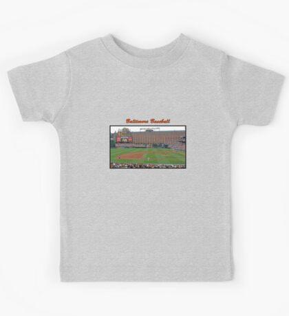 Baltimore Baseball Kids Tee