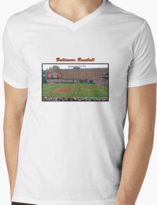 Baltimore Baseball Mens V-Neck T-Shirt