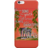 Sons and Daughters iPhone Case/Skin