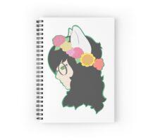 Flower Crown Jade Spiral Notebook