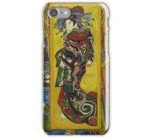 Vincent Van Gogh  - Courtesan after Eisen, 1887 iPhone Case/Skin
