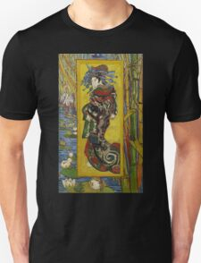 Vincent Van Gogh  - Courtesan after Eisen, 1887 Unisex T-Shirt