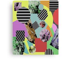 Geometric Chaos Canvas Print