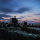 Perth after Sunset... by Angelika  Vogel