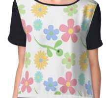 Flower Power Chiffon Top
