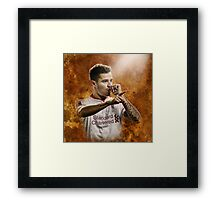 Philippe Coutinho - Fire Framed Print