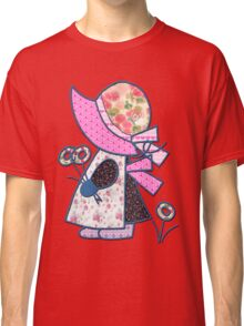 Cute and pretty patchwork sunbonnet Classic T-Shirt
