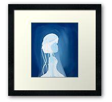 Jellyfish girl Framed Print