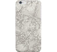 Line Blossom iPhone Case/Skin
