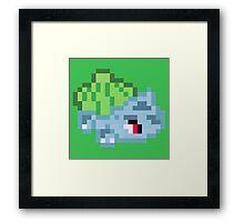 Pixel pokemon Framed Print