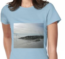 Oh so peaceful and calm......Lyme Regis DT7 3JD Womens Fitted T-Shirt
