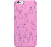 Unsettling Potato Men in Gel Pen iPhone Case/Skin