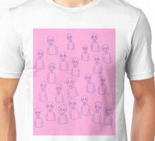 Unsettling Potato Men in Gel Pen Unisex T-Shirt