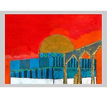 Dome Of The Rock Illustration Photographic Print