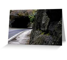 Empty Roads Greeting Card
