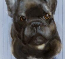 French Bulldog, 2016 Sticker