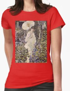 Frederick Carl Frieseke - Sun And Wind . Аmerican, Impressionism Womens Fitted T-Shirt