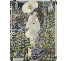 Vintage famous art - Frederick Carl Frieseke - Sun And Wind iPad Case/Skin