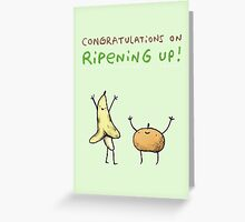 Ripening Up Greeting Card