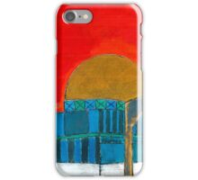 Dome Of The Rock Illustration iPhone Case/Skin
