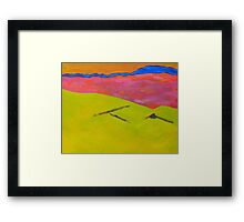 By Muckish 1 - Donegal Framed Print
